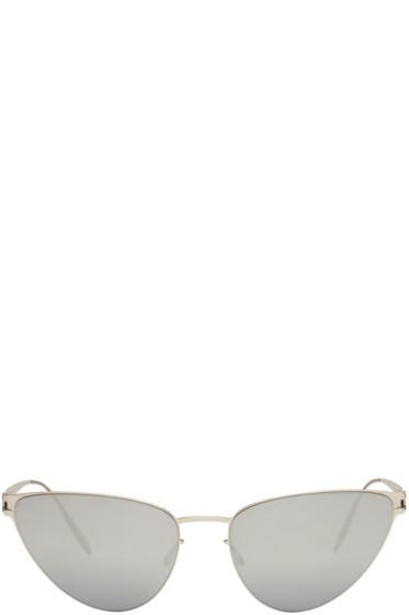 Mykita - Silver Bernhard Willhelm Edition Eartha Sunglasses