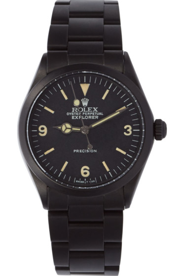 Black Limited Edition - Matte Black Limited Edition Rolex Oyster Perpetual Explorer