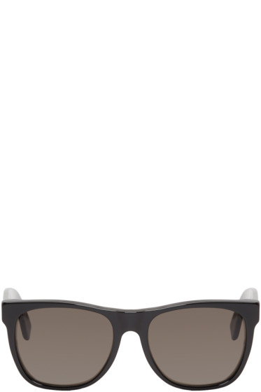 Super - Black Rectangular Classic Sunglasses