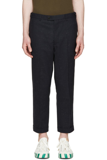 Visvim - Navy Wool Trousers