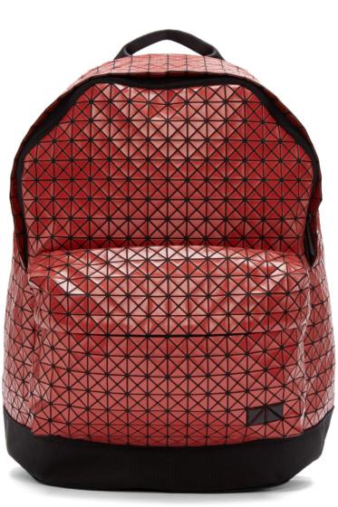 Bao Bao Issey Miyake - Red Geometric Backpack
