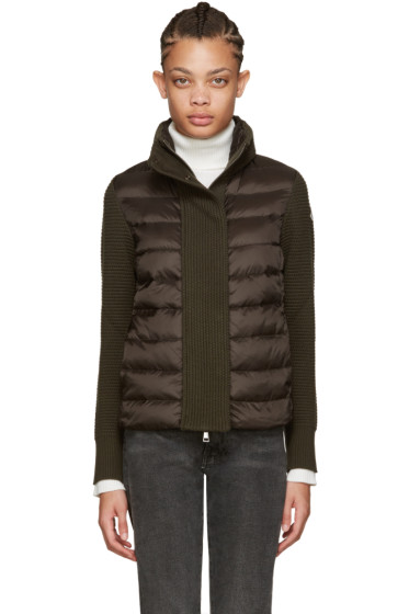 Moncler - Brown Quilted Down Jacket