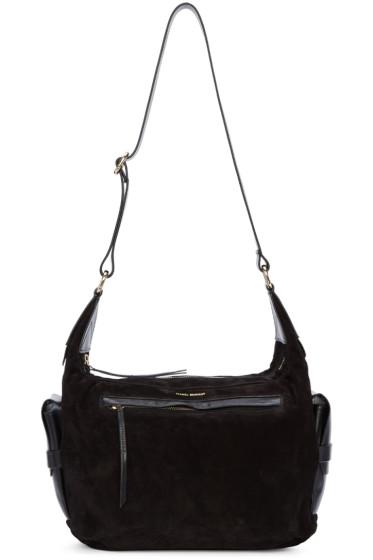 Isabel Marant - Black Suede Corte Bag