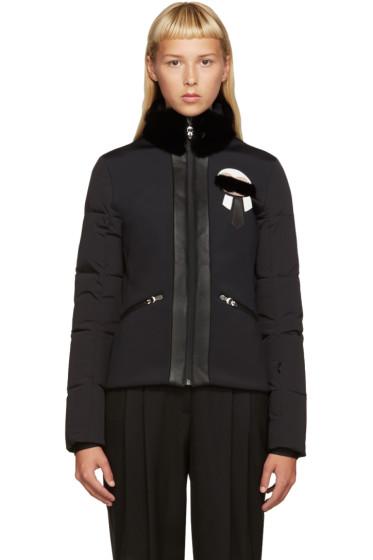 Fendi - Black Down Karlito Jacket