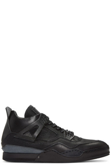 Hender Scheme - Black Manual Industrial Products 10 Sneakers