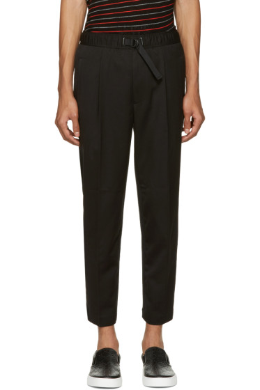 Diesel - Black Belted P-Pollack-Sw Trousers