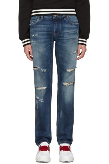 Dolce & Gabbana - Blue Gold Fit Jeans