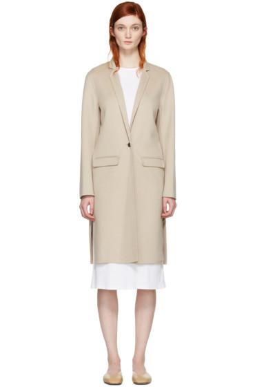 Mackage - Beige Wool Hensley Coat