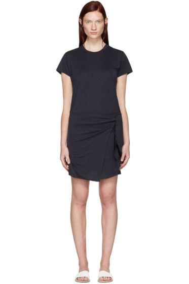 Rag & Bone - Navy Andie T-Shirt Dress