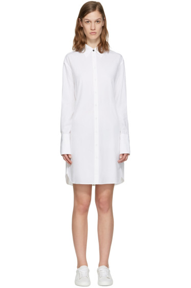 Rag & Bone - White Essex Shirt Dress