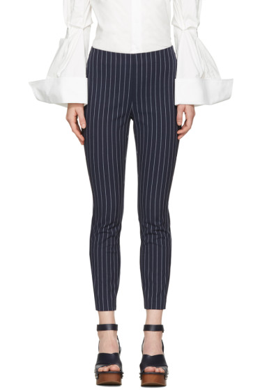 Rag & Bone - Navy Simone Pinstripe Trousers