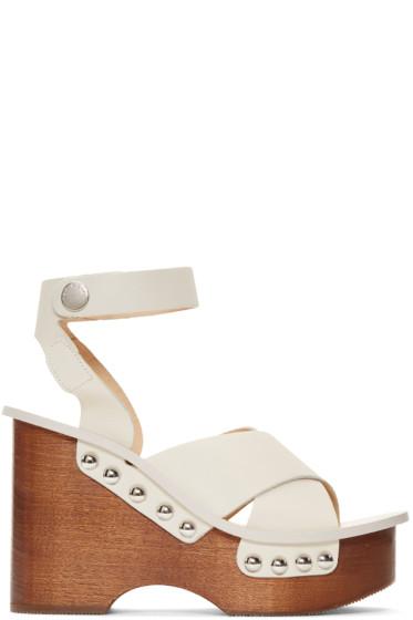 Rag & Bone - Ivory Hester Sandals
