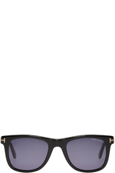 Tom Ford - Black Leo Sunglasses