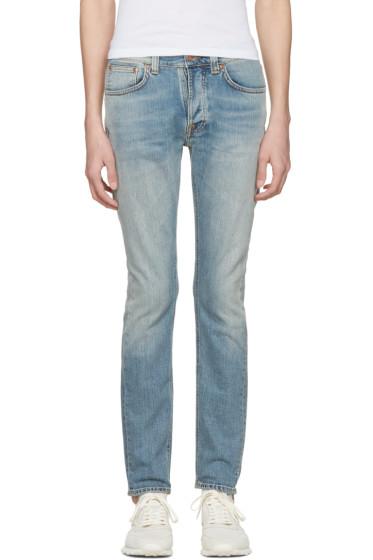 Nudie Jeans - Blue Tilted Tor Jeans