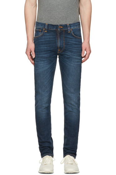 Nudie Jeans - Navy Lean Dean Jeans