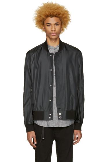 Public School - Black Hargreaves Bomber Jacket
