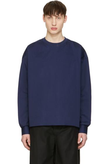 Diesel Black Gold - Blue Poplin Pullover