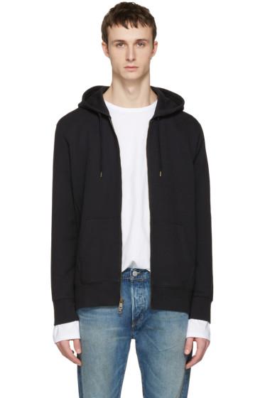 Levi's - Black Original Zip-Up Hoodie