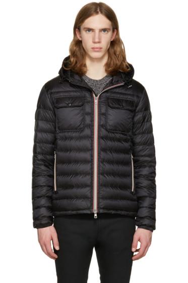 Moncler - Black Down Douret Jacket