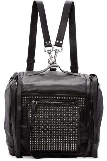 McQ Alexander McQueen - Black Convertible Box Backpack