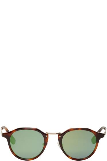 McQ Alexander McQueen - Tortoiseshell Oxford Sunglasses