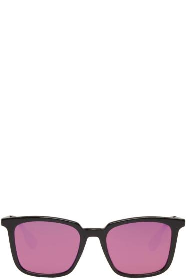 McQ Alexander McQueen - Black Square Sunglasses
