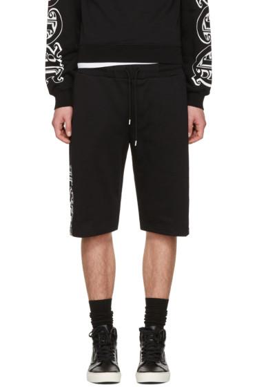 McQ Alexander McQueen - Black Dart Lounge Shorts