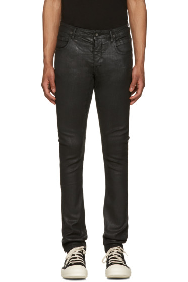 Rick Owens Drkshdw - Black Detroit Cut Jeans