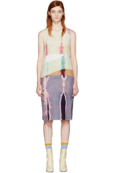 Acne Studios - Multicolor Sagita Bleach Dress