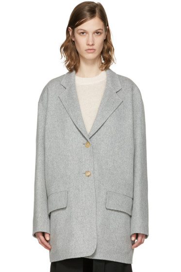 Acne Studios - Grey Lupi Doublé Coat