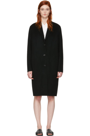 Acne Studios - Black Avalon Doublé Coat