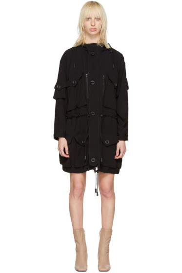 Acne Studios - Black Leto Hooded Utility Jacket