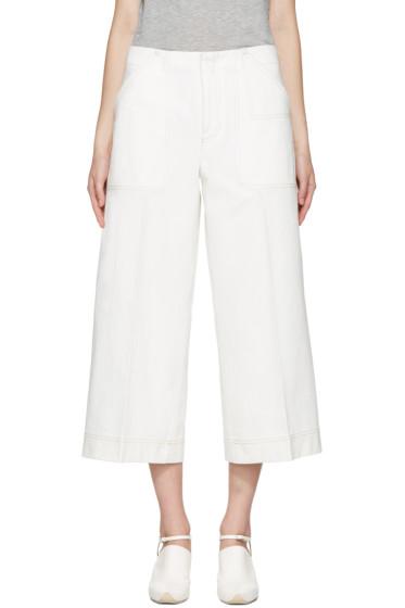 Acne Studios - White Texel Trousers