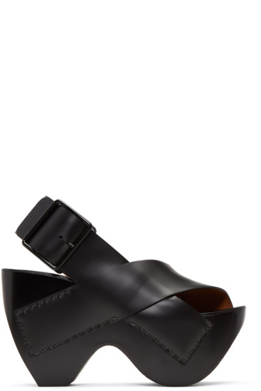 Acne Studios - Black Carley Sandals