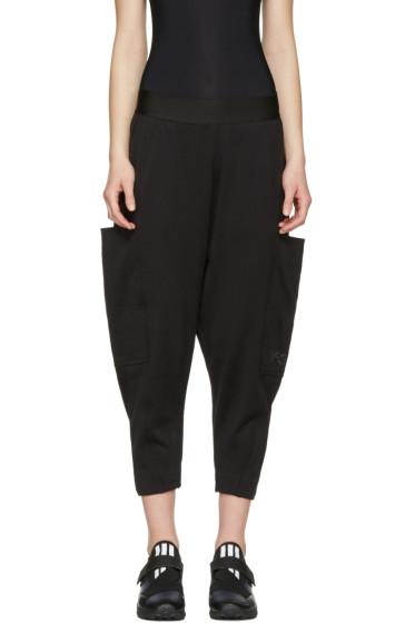 Y-3 - Black Cocoon Lounge Pants