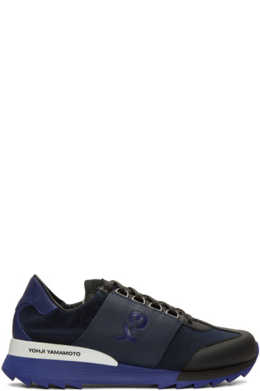 Y-3 - Blue Rhita Sport Sneakers