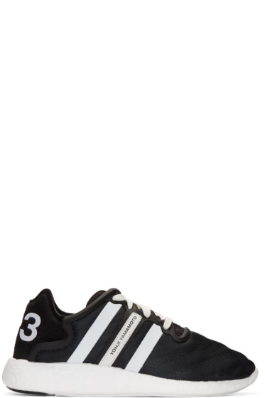 Y-3 - Black Yohji Run Boost Sneakers