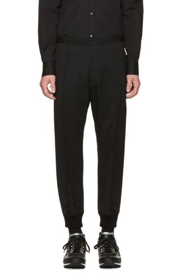 Dsquared2 - Black Twill Lounge Pants