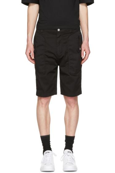 Helmut Lang - Black Utility Shorts
