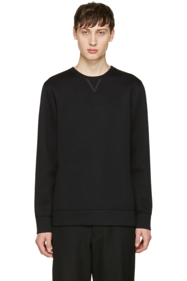 Helmut Lang - Black Tape Detail Pullover