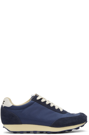 YMC - Navy Tabi Sneakers