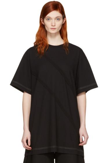 Maison Margiela - Black Panelled T-Shirt