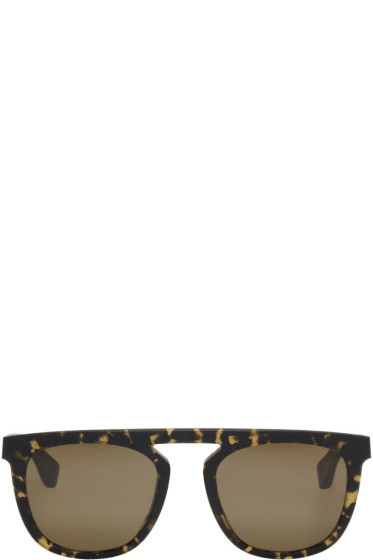 Maison Margiela - Beige & Black Mykita Edition MMRAW004 Sunglasses