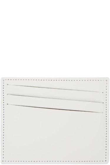 Maison Margiela - White Classic Card Holder