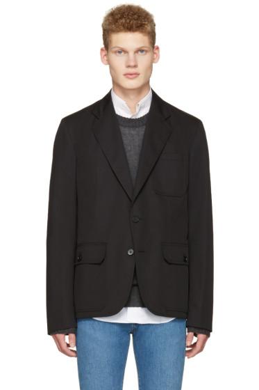 Maison Margiela - Black Pocket Detail Blazer