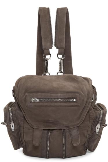 Alexander Wang - Grey Mini Marti Backpack