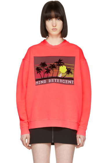 Alexander Wang - Pink Oversized Patch Pullover
