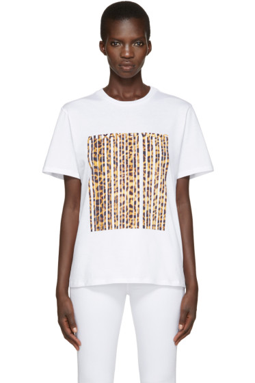Alexander Wang - White Logo T-Shirt