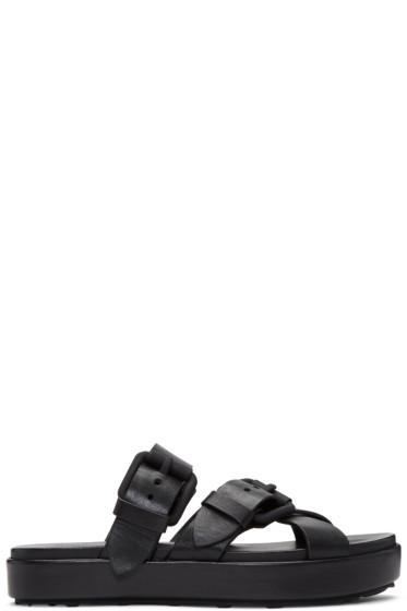 Alexander Wang - Black Kriss Sandals