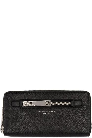 Marc Jacobs - Black Gotham Continental Wallet